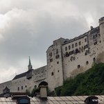 Hohensalzburg Fortress, Austria - Beautiful view of Salzburg seen from the fortress walls