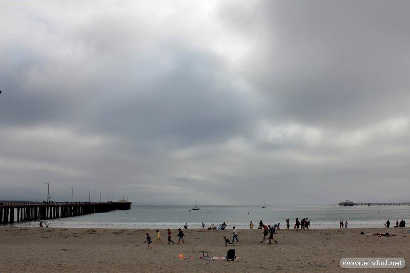 Avila Beach, California - The beach and pier at Avila Beach.