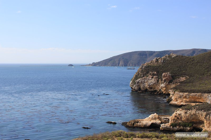Avila Beach, California - Amazing view of the San Luis Obisbo Bay from Cave Landing near Avila Beach.
