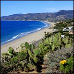 Malibu, California – Beautiful California coast at Point Dume