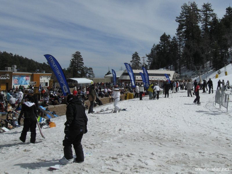 Wrightwood, California - Mountain High winter resort is a great place for enjoying the snow.