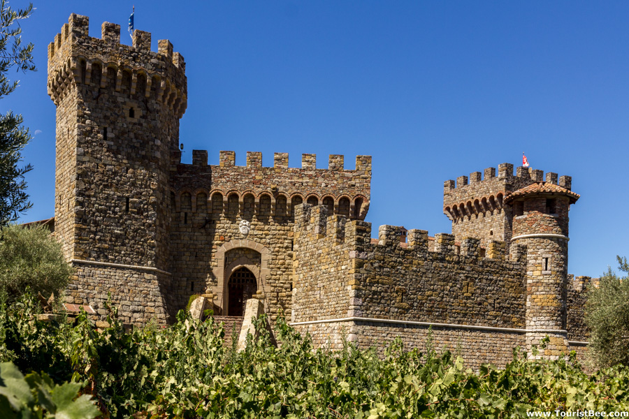 Castello Di Amorosa winery has opened in 2007. The main attraction is the medieval castle built using old world techniques.