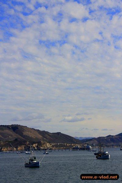 Port san luis harbor california fishing boats and avila for Avila beach fishing