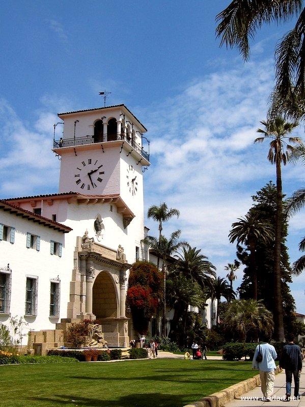 Santa Barbara, California -  The Courthouse tower provides great panoramic views of Santa Barbara.