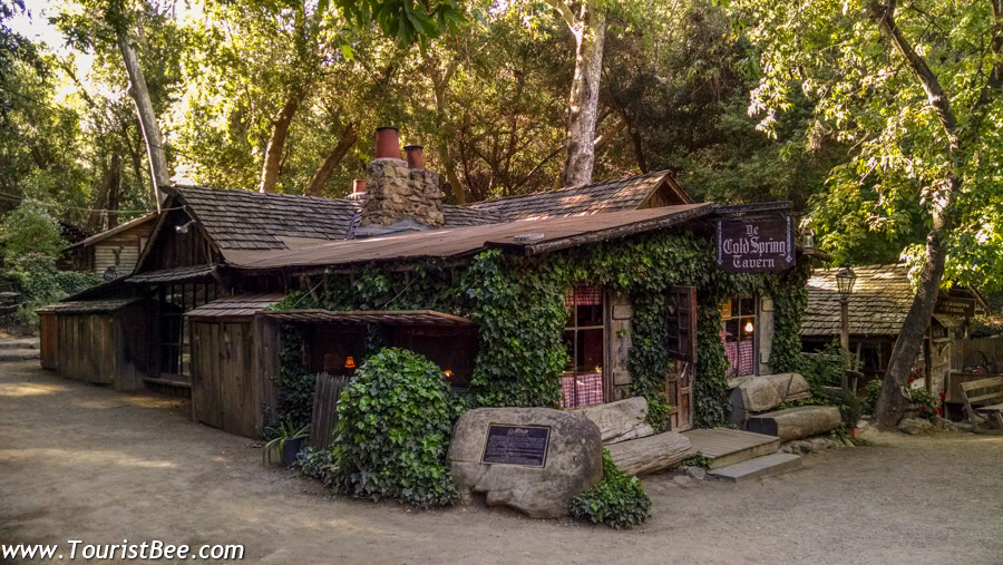 Santa Barbara, California - The Cold Spring Tavern is a beautiful restaurant inside a beautiful old wooden building