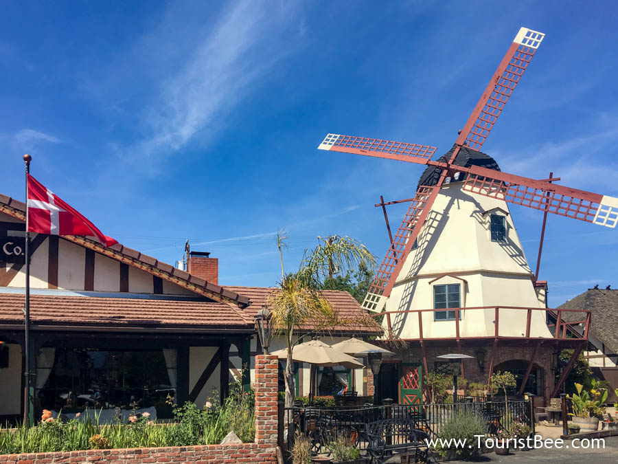Solvang, California - Windmills are everywhere in this little Danish town