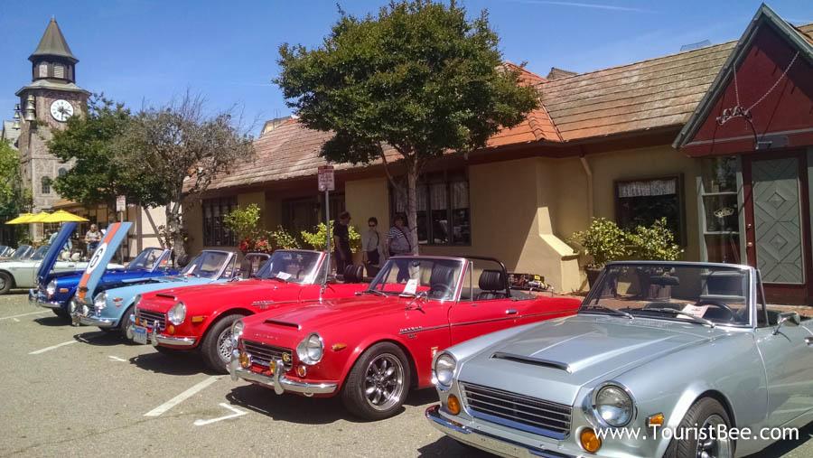 Datsun classic car show in Solvang