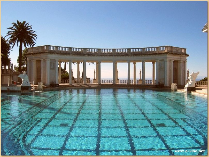 Neptune's Pool is one of the main attraction at Hearst Castle