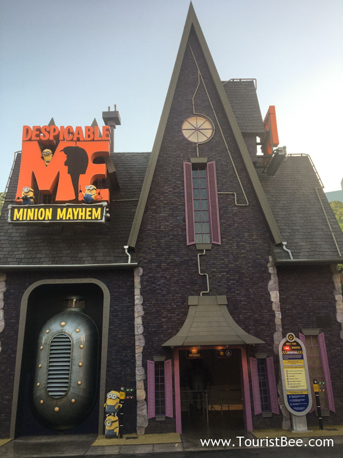 Universal Studios, Hollywood - The Despicable Me attraction at Universal Studios