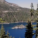 Lake Tahoe, California – Emerald Bay is the jewel of Lake Tahoe