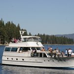 Thumbnail of tour boat at Emerald Bay in Lake Tahoe.
