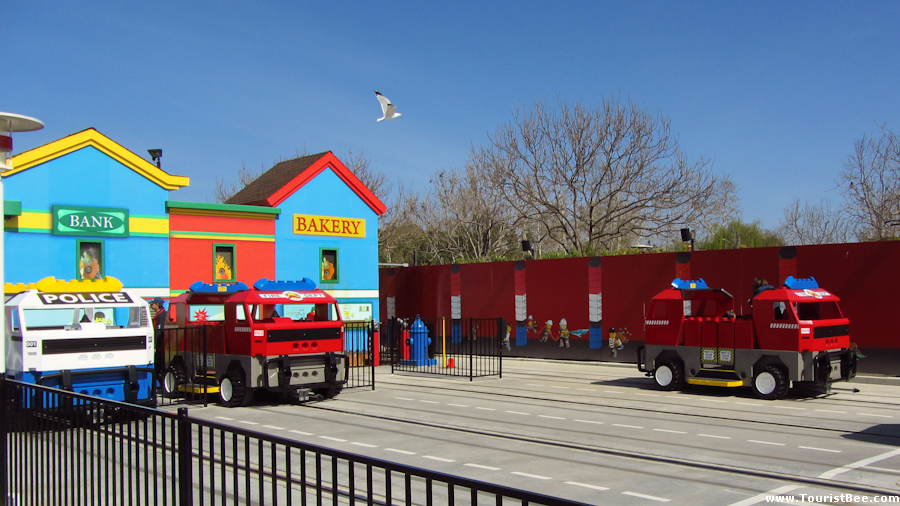 Legoland, California - The Fun Town Police and Fire Academy attraction