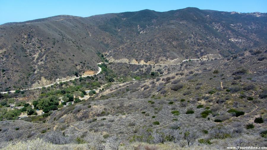 Leo Carrillo State Park California Mulholland Drive As
