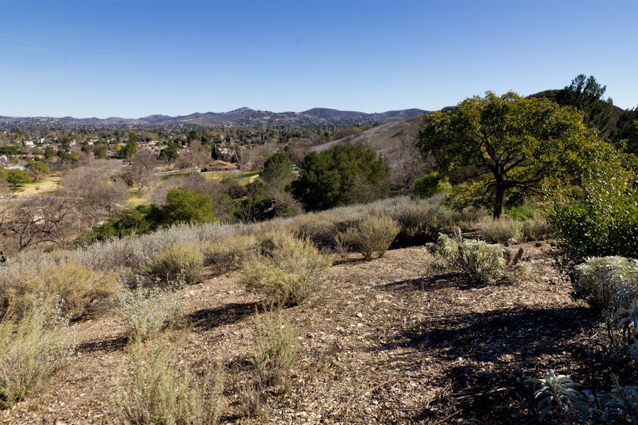 Thousand Oaks California Panorama Of The Thousand Oaks Area Seen From The High Point At