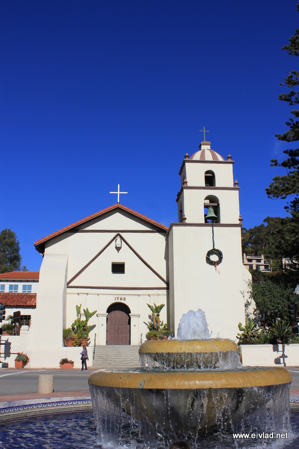 Ventura, California - The San Buenaventura Mission was founded in 1782 by Father Junipero Serra