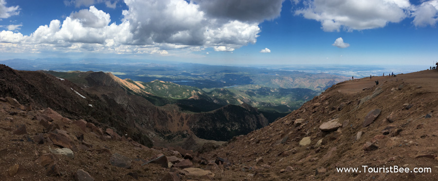 Pikes Peak, Colorado - At over 14000ft tall, Pikes Peak is one of the tallest mountain peaks in America