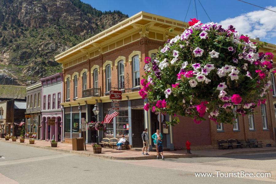 Georgetown, Colorado - Colorful Victorian buildings