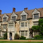 Beautiful view of Anglesey Abbey.