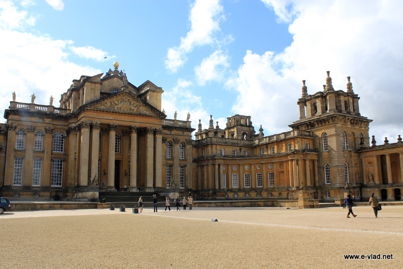 Blenheim Palace, Oxfordshire, England - Blenheim Palace is the birthplace of Sir Winston Churchill