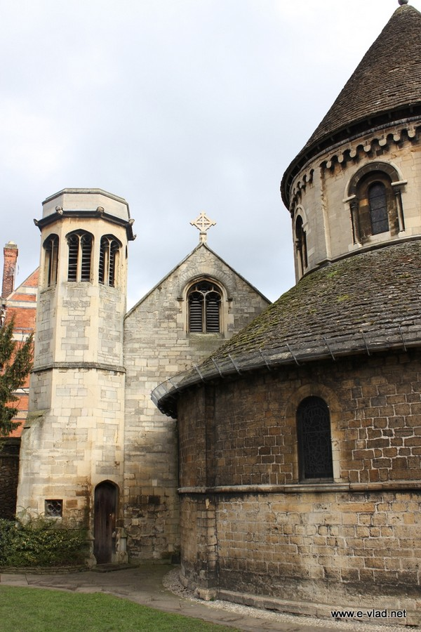 The Round Church is the usual starting spot on any Cambridge walking tour.