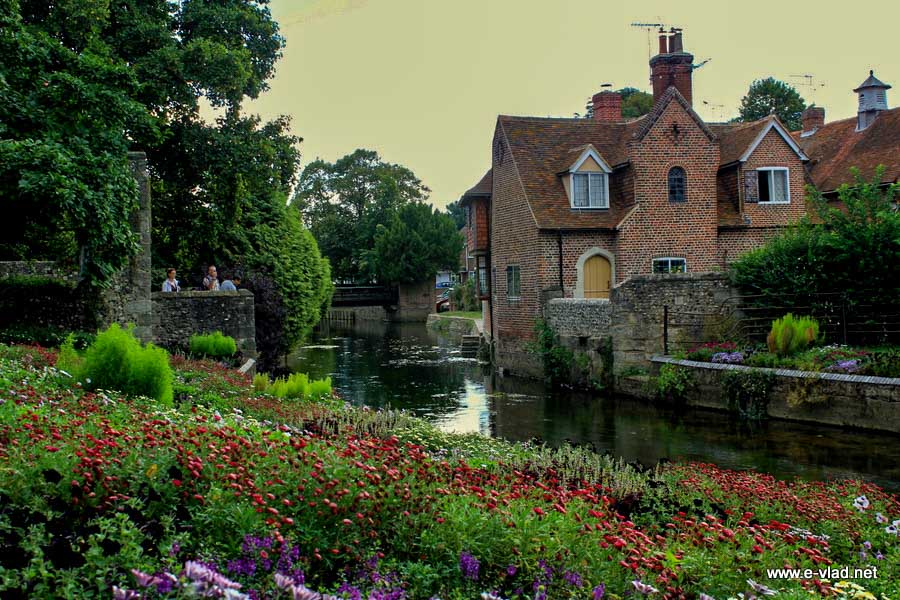 Westgate Gardens is a popular spot on any walking tour of Canterbury
