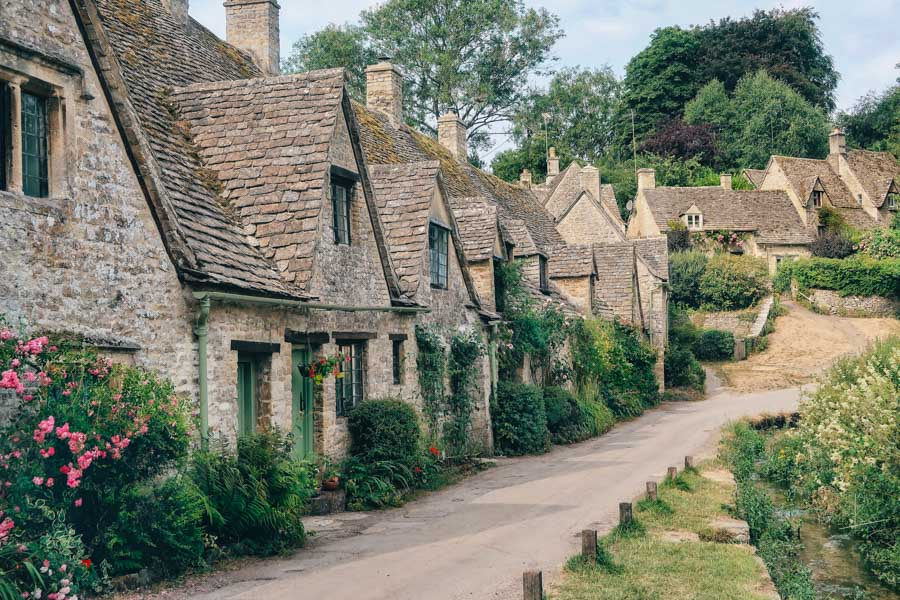 Bibury, Gloucestershire - Bibury is known as the prettiest English village
