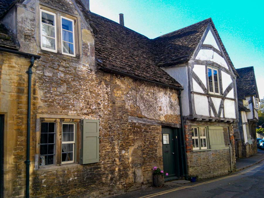 Lacock, Wiltshire is one of the best places to see in the Cotswolds