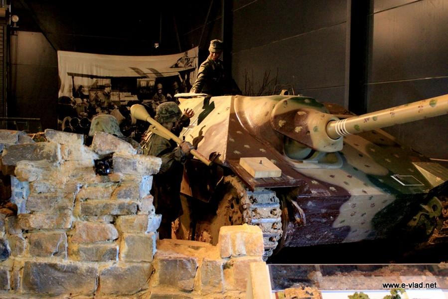 German tank position on display at Duxford Land Warfare Museum