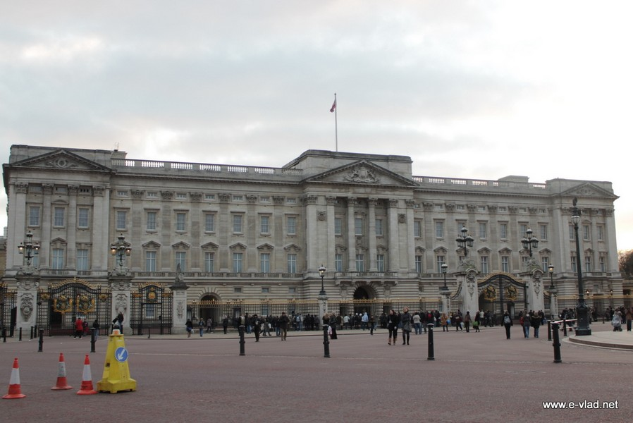 London, England - The Buckingham Palace.