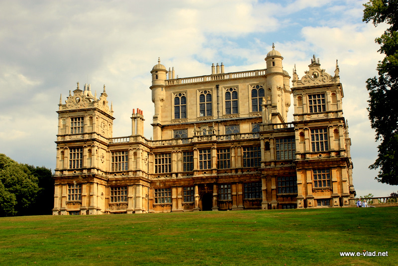 Nottingham, England - Wollaton Hall is a spectacular Elizabethan mansion