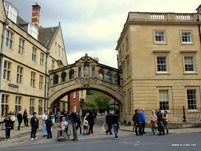 Oxford, England - The Bridge of Sighs on New College Ln.