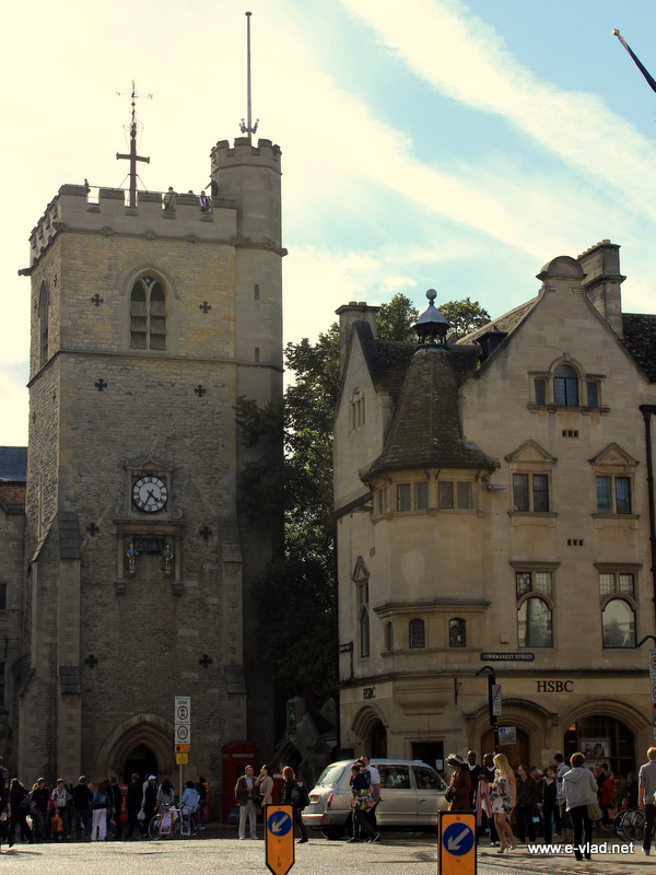 Carfax Tower gives you great views of the city