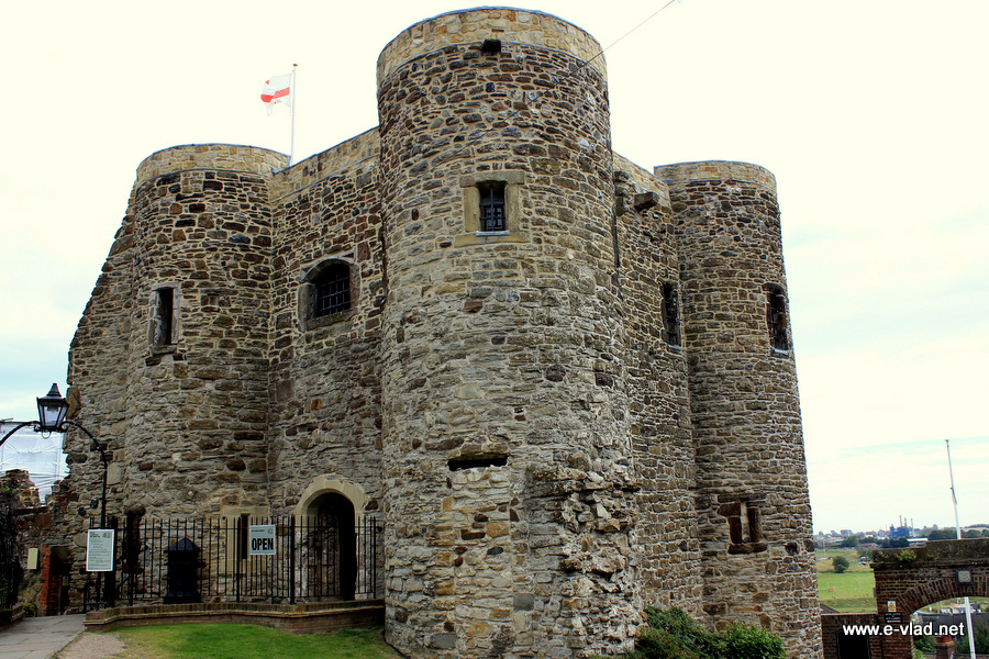 Rye, England - Beautiful view of Rye Castle.