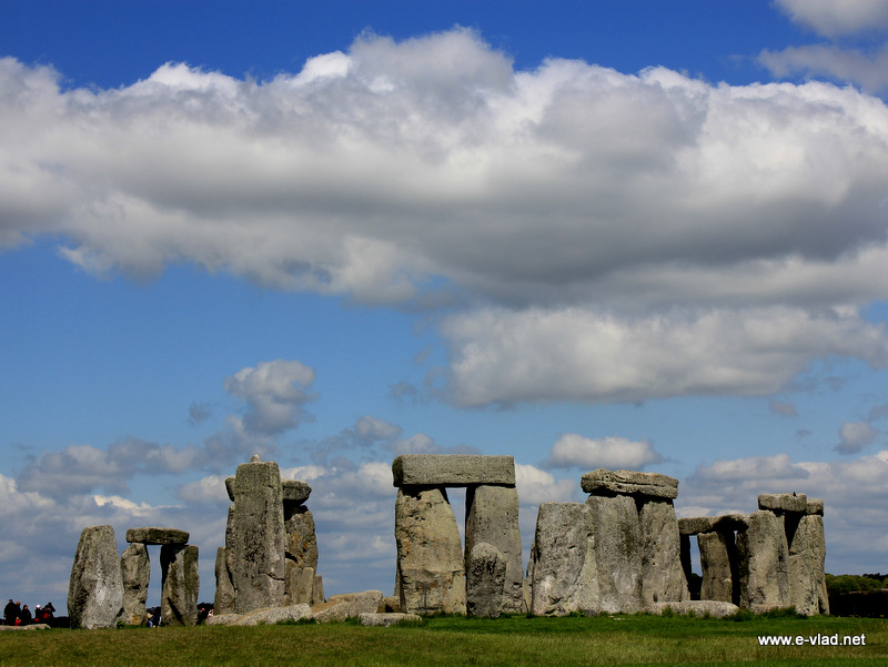 Stonehenge, England - View of the stone formation from the south.