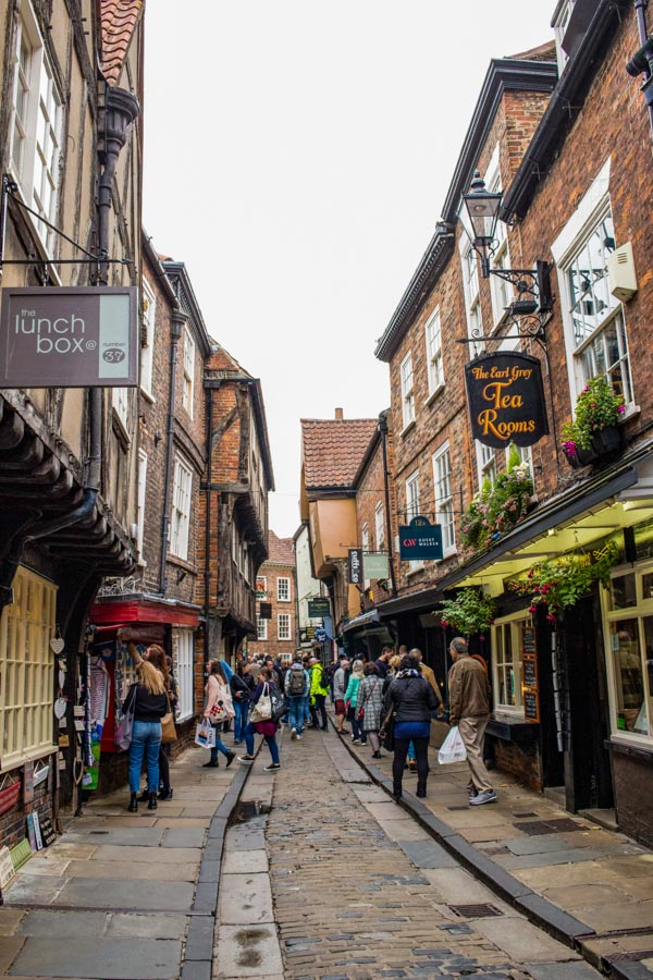 The Shambles is the medieval street that has inspired the famous Diagon Alley from the Harry Potter movie series