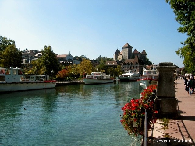 Annecy, France - the beautiful Annecy Lake