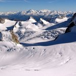 Panorama of French Alps - thumbnail.