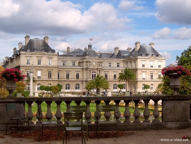 Louxembourg Palace and Gardens is a very relaxing park in Paris, France.