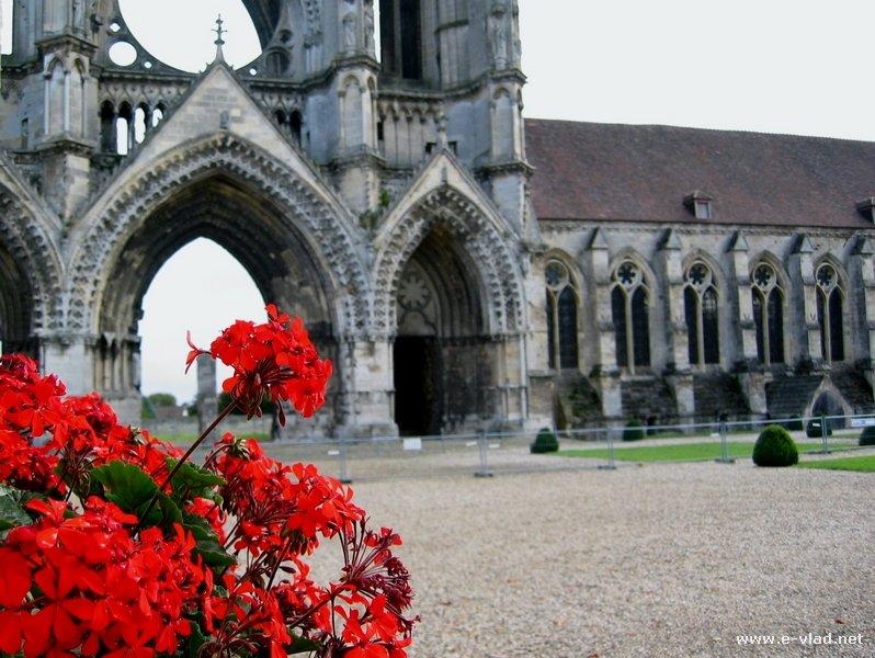 Soissons France  city images : Soissons, France Beautiful view of the Abbey Saint Jean des Vignes ...
