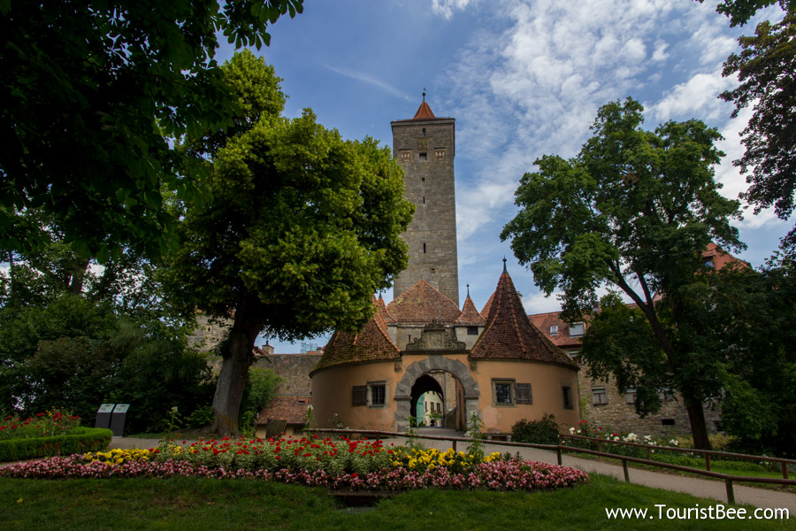 With its old gates and towers, Rothenburng ob der Tauber is the most famous stop on Germany's Romantic Road.