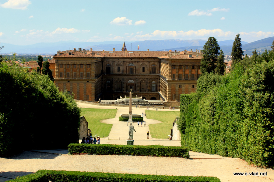 The impressive Palazzo Pitti is one of the best museums in Florence