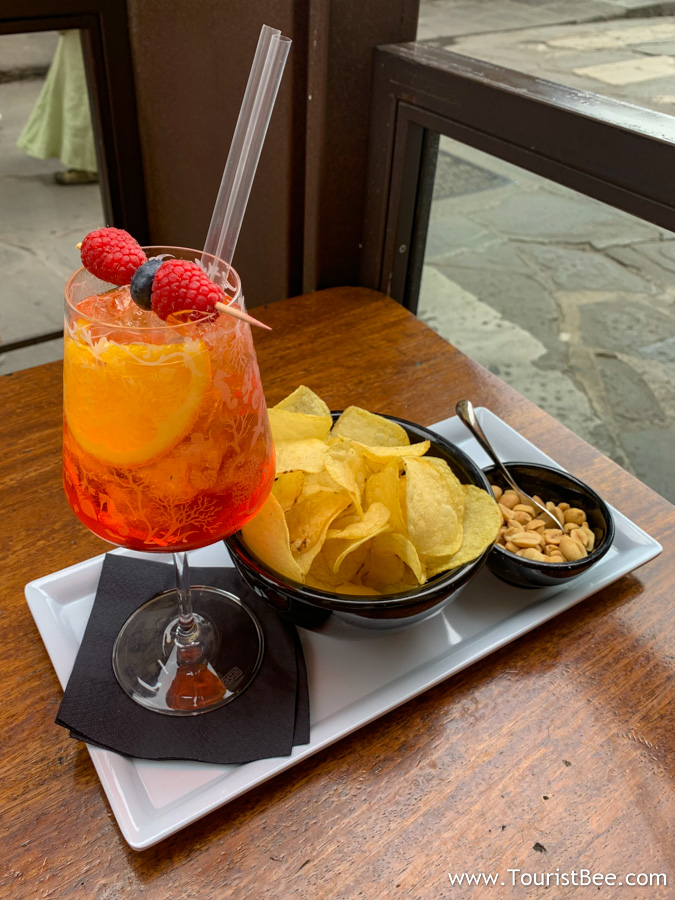 Florence, Italy - Spritz and Snacks at Oibò is one of the best way to experience the food of Florence