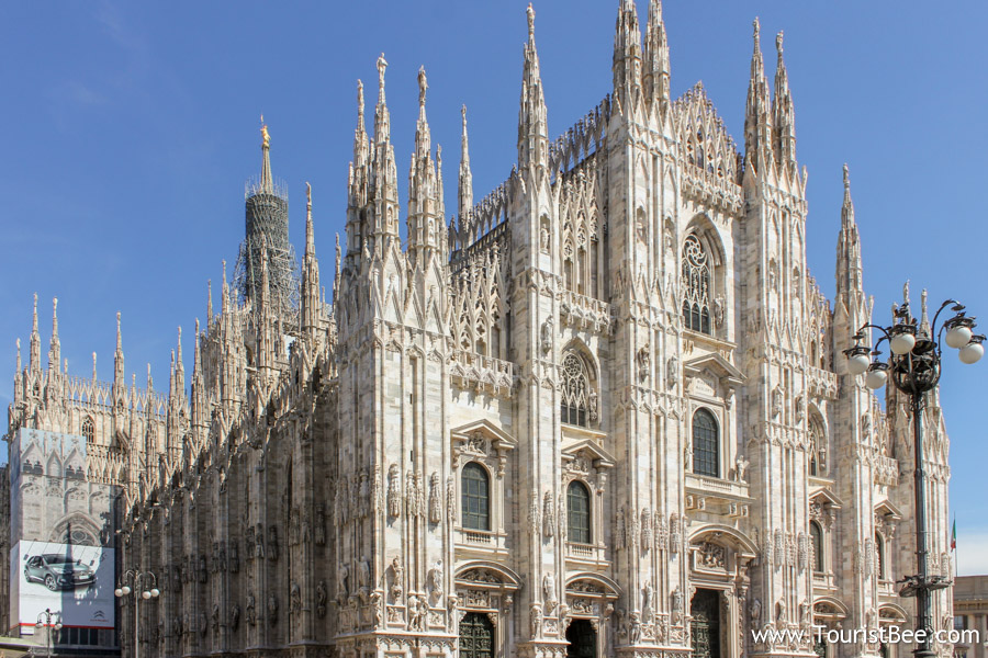 Milan Italy Il Duomo The Dome Is The Largest Building In Milan