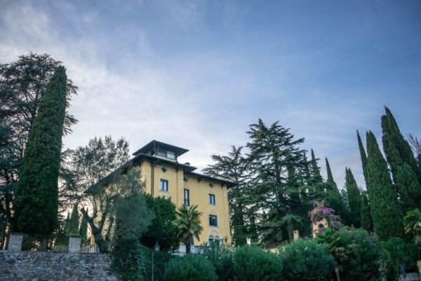 Sirmione, Italy - Villa Callas is the former residence of opera singer Maria Callas