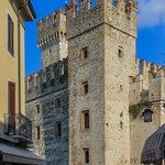 Medieval walls at Sirmione, Italy