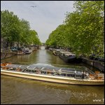 Travel photos from Amsterdam water canals