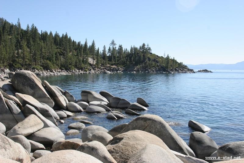 Sand Harbor beach is the best Lake Tahoe beach for beach space.