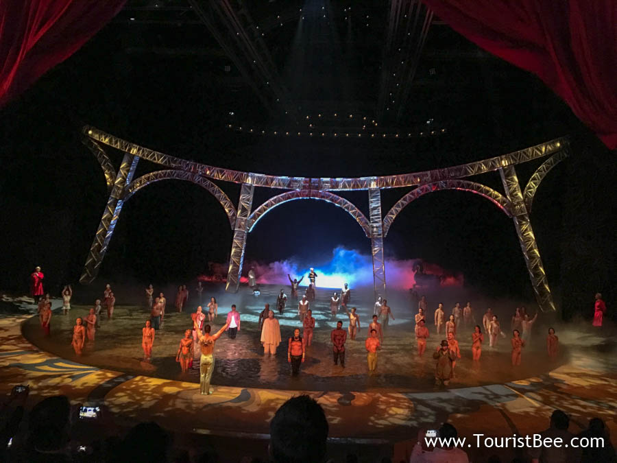 The beautiful Cirque du Soleil