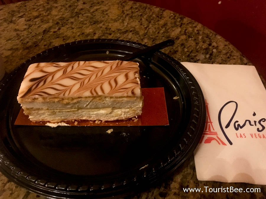 Paris, Las Vegas - Napoleon cake from Cafe Belle Madeleine