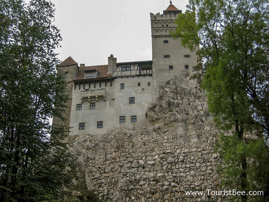 Bran Castle is the most famous Romanian Castle as it serves as the inspiration for Dracula's Castle